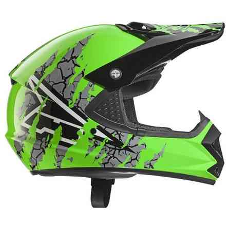 Helm Ninja Jr Green Axo
