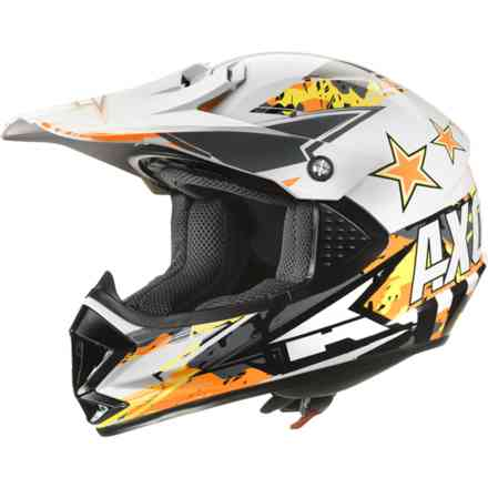 Helm Ninja Jr. Orange Axo