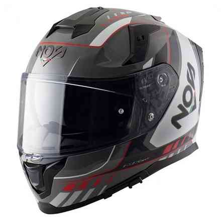 Helm Ns-10 Full Face Mig Rot NOS