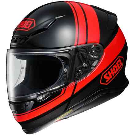 Helm Nxr Philosopher Tc-1 Schwarz Rot Shoei