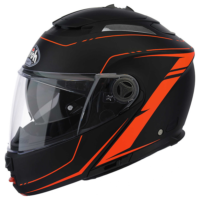 Helm Phantom  Lead orange Airoh