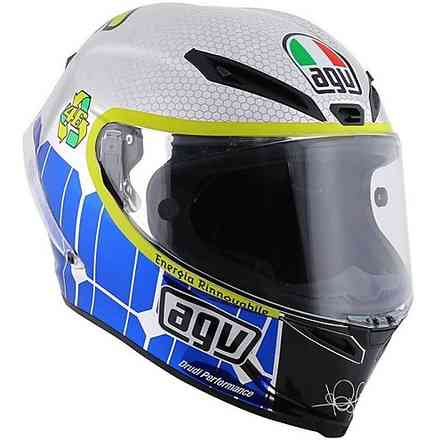 Helm Pista Gp Limited Edition Rossi Mugello 2015 Agv