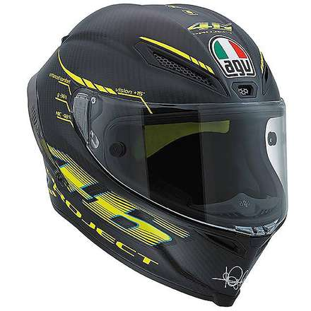 Helm Pista Gp Project 46 2.0 carbon matt Agv