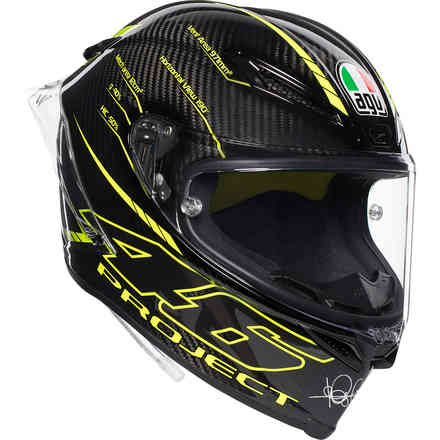 Helm Pista Gp R Top Project 46 Agv