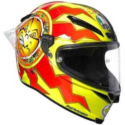 Helm Pista Gp R Top Rossi 20 Years Agv