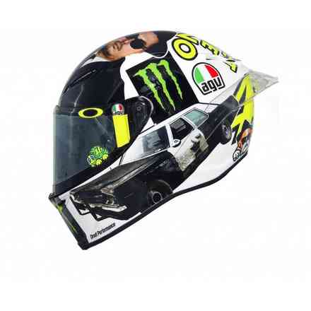 Helm Pista Gp R Top Rossi Misano 2016 Agv