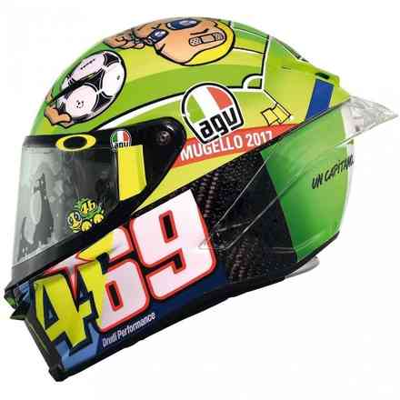 Helm Pista Gp R Top Rossi Mugello Carbon Agv