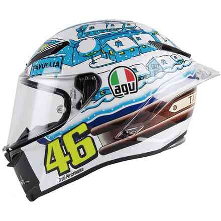 Helm Pista Gp R Top Rossi Winter Test 2017 Agv