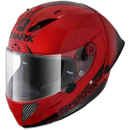 Helm Race-R Pro Carbon Gp 30th anniversary rot carbon schwarz  Shark