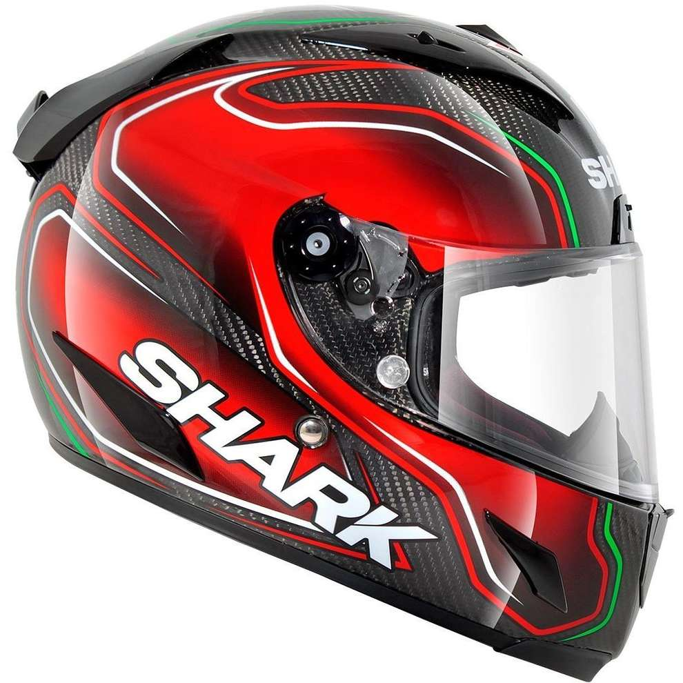 Helm Race-R Pro Carbon Replica Guintoli Shark