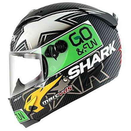 Helm Race-R Pro Redding go & fun Shark