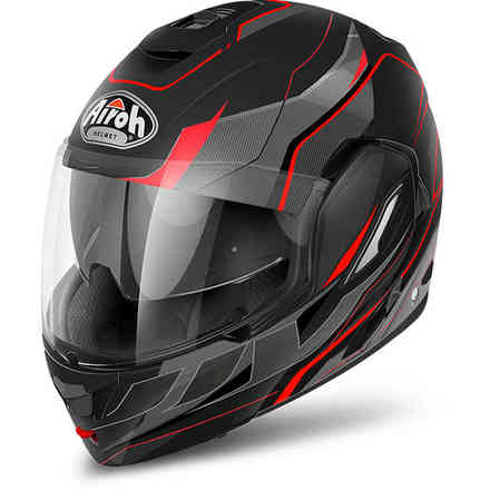 Helm Rev Revolution schwarz matt Airoh
