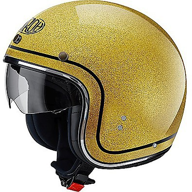 Helm Riot Color  gold glitter Airoh