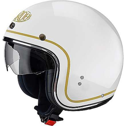 Helm Riot Color weiß Airoh