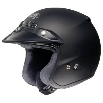 Helm Rj Platinum-r Matt Black Shoei