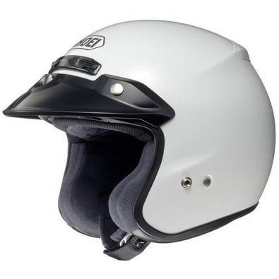 Helm Rj Platinum-r White Shoei
