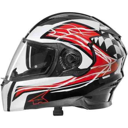 Helm RS01 Con Pinlock Green/white/red Axo