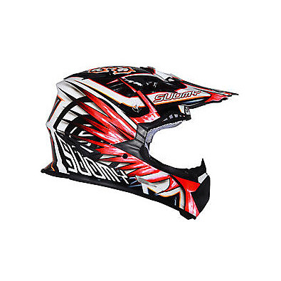 Helm Rumble Eclipse Red Suomy