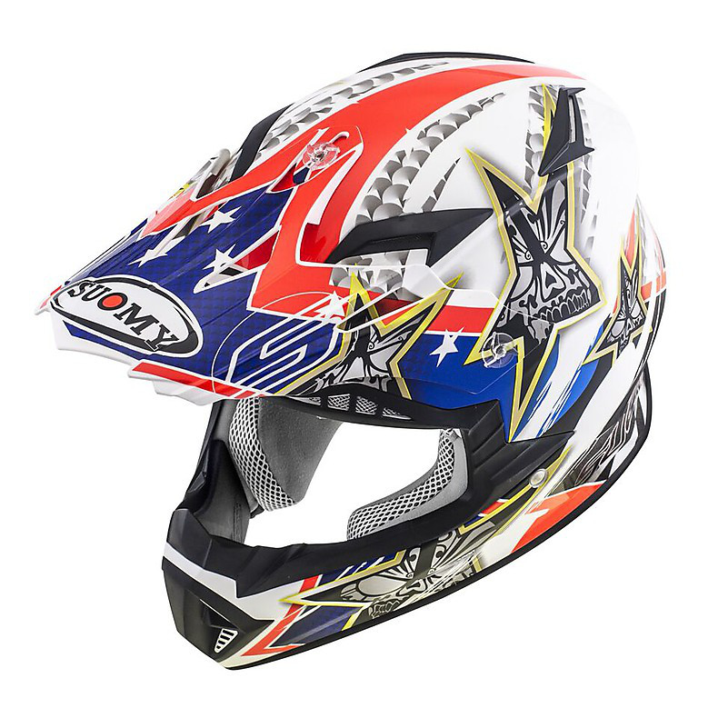 Helm Rumble Tex Suomy