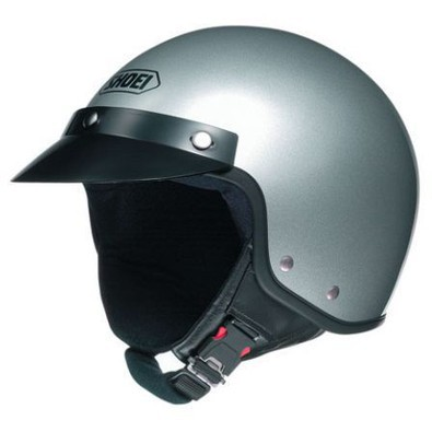 Helm S-20 Light Silver Shoei