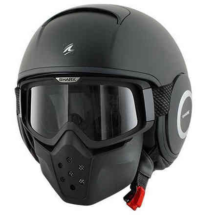 Helm Shark Blank Drak Mat Shark