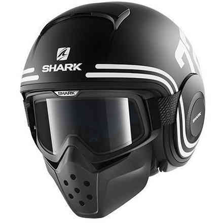 Helm Shark Drak 72 Mat Shark