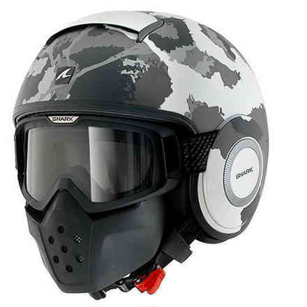 Helm Shark Drak Kurtz Mat Shark