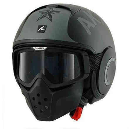 Helm Shark Drak Soyouz Mat Shark