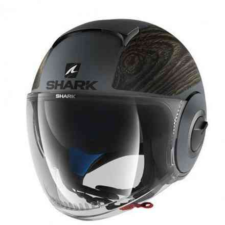 Helm Shark Nano Siji Mat Shark