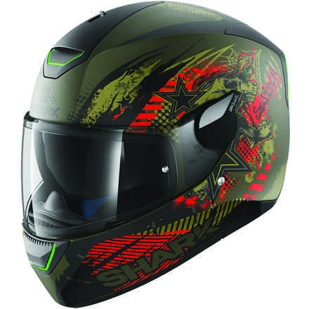 Helm Skwal Switch Riders Mat Shark