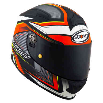Helm Sr-Sport Engine Matt Schwarz Rot Suomy