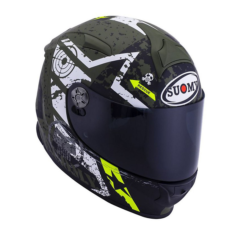 Helm SR Sport Stars Military Suomy