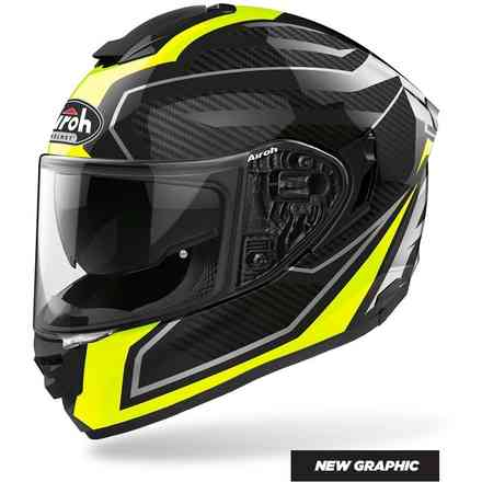 Helm St.501 Prime Gelb Gloss Airoh