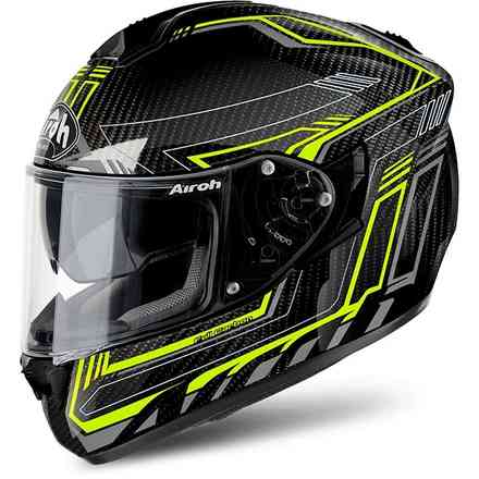 Helm St 701 Safety Full Carbon  Airoh