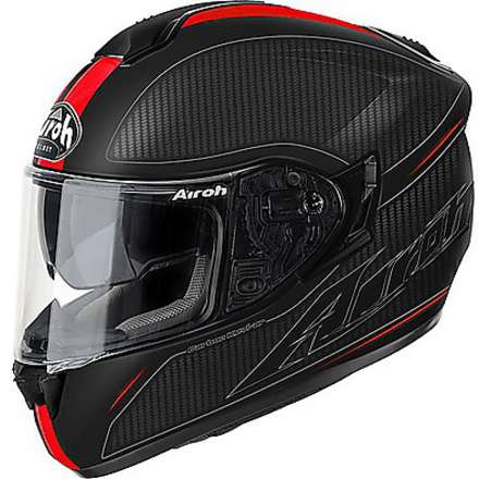 Helm ST 701 Slash rot matt Airoh