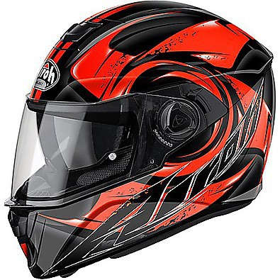 Helm Storm  Anger orange Airoh