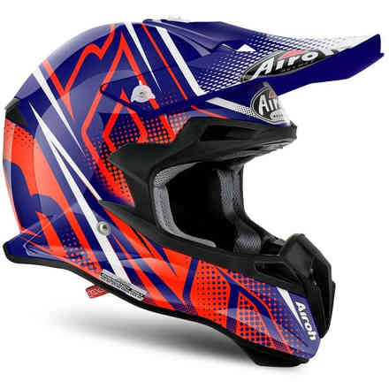 Helm Terminator 2.1 S Cleft orange Airoh