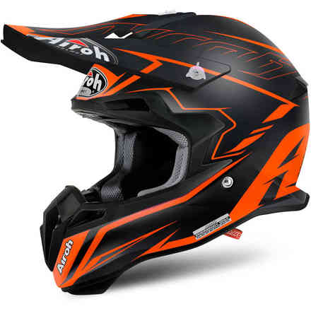 Helm Terminator 2.1 S Slim orange Airoh