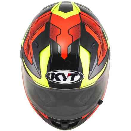 Helm Thunderflash Bolt Rot/Gelb KYT