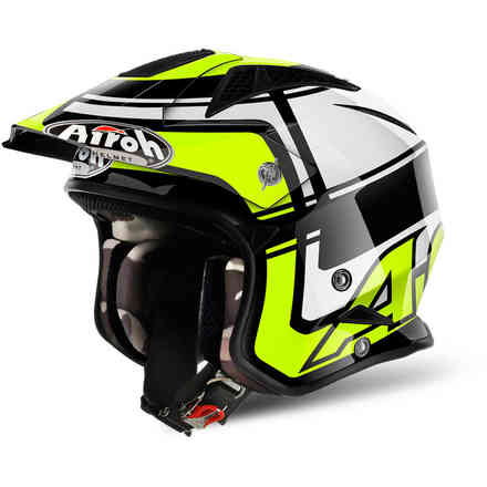 Helm Trr S Wintage gelb Airoh
