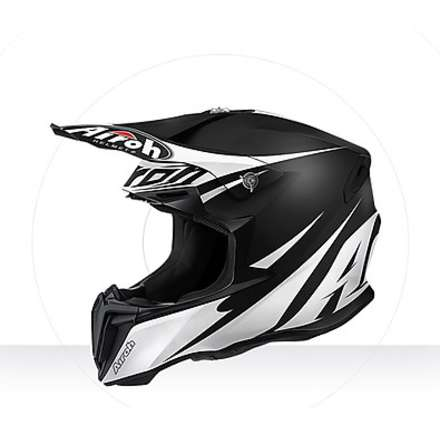 Helm Twist Freedom black matt Airoh