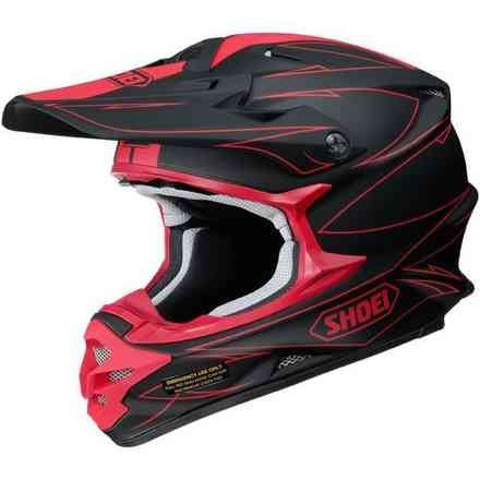 Helm Vfx-W Hectic Tc-1 Shoei