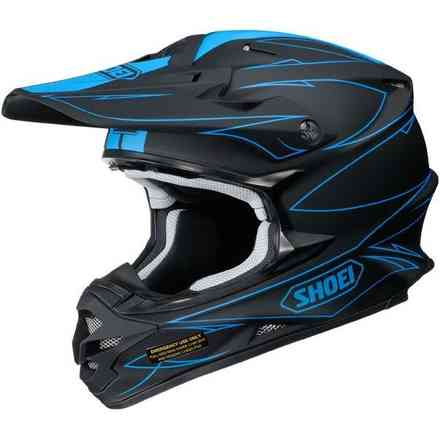 Helm Vfx-W Hectic Tc-2 Shoei