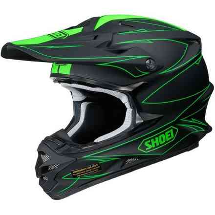Helm Vfx-W Hectic Tc-4 Shoei