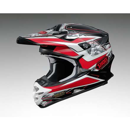 Helm Vfx-w Turmoil Tc-1 Shoei