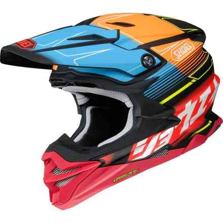 Helm Vfx-Wr Zinger Tc10 Shoei