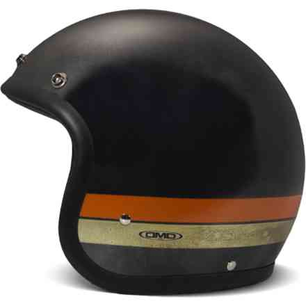 helm Vintage Goldie Black hand made DMD