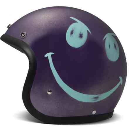 Helm Vintage Smile Violet hand made DMD