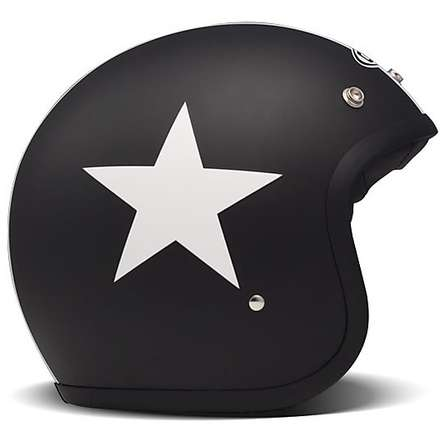 Helm Vintage Star Black DMD