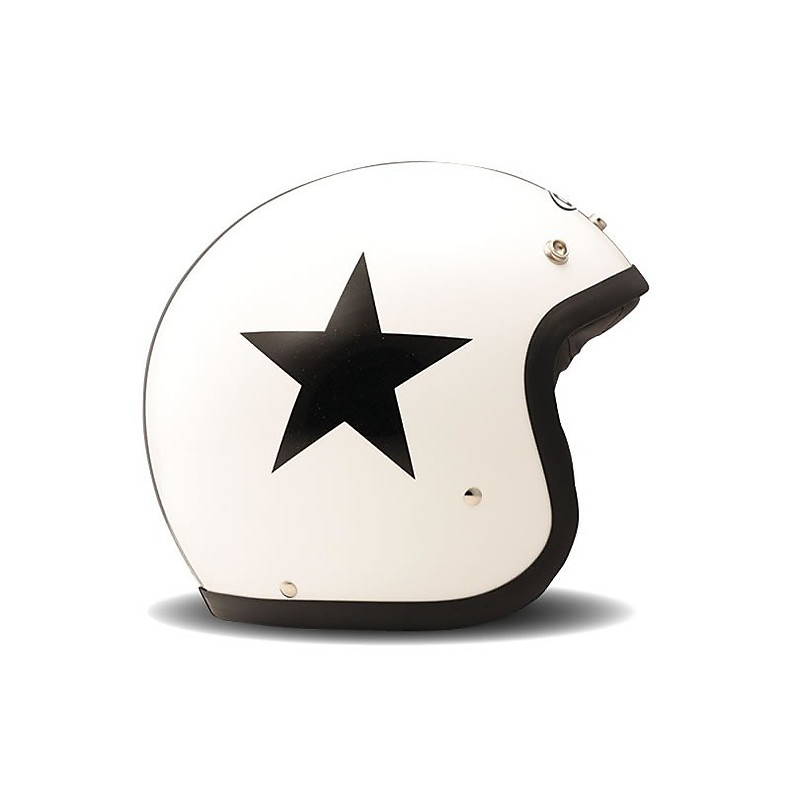 Helm Vintage Star White DMD